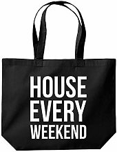 House Every Weekend Tote Shopping Gym Beach Bag 39