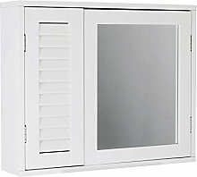 House & Homestyle Mirrored Bathroom Cabinet,