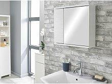 House&homestyle - White Ripple Bathroom Mirrored