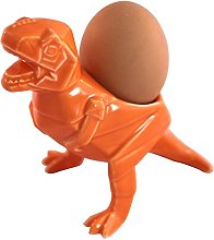 House of Disaster Egg cup Holder Dino in Orange