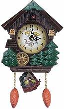 House Shape 8 Inches Wall Clock Cuckoo Clock