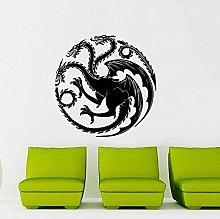 House Wall Stickers for Living Room Background Art
