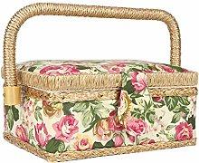 Household Craft Sewing Basket Sewing Storage