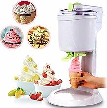 Household DIY Kitchen Automatic Mini Ice Cream