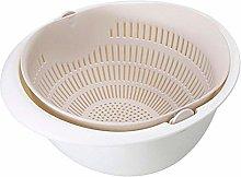 Household Drain Basket Bowl dishwashing Colander
