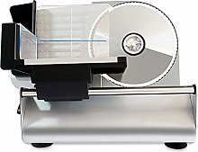 Household Electric Slicer, 200W Compact Stainless