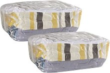 Household Essentials 4511 Set of 2 MightyStor Cube
