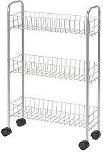 Household Essentials 7011 Slim Line 3-Tier Metal
