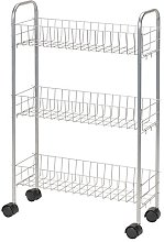 Household Essentials 7011 Slim Line 3-Tier Metal