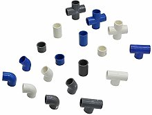Household Hose Adapter 32mm PVC Plastic Water