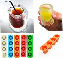 Household Long Ice Cup Ice Tray Ice Shot Glass