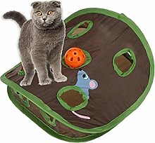 Household Pet Cat Mice Game Intelligence Toy Bell