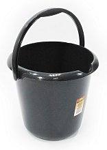 Household Plastic Bucket Graphite 13L - Efix