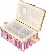 Household Sewing Storage Box Craft Sewing Basket