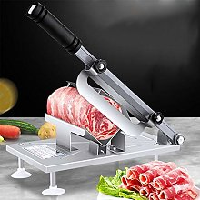 Household Stainless Steel Meat Slicer, Manual Meat