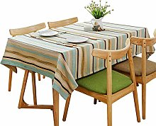 Household Tablecloth Rectangular Simple Color