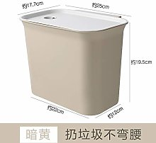 Household Wall-Mounted Sorting Trash Can, Plastic