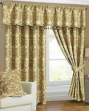 Householdfurnishing Curtain Pair Tieback Heavy