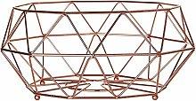 Housewares Fruit Basket 32 cm - Copper Plated
