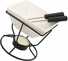 Housoutil Chocolate Fondue Maker Ceramic Cheese