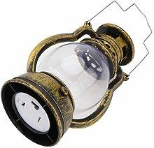 Housoutil Vintage Handheld Lantern Flameless