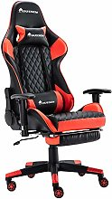 Houssem Video Gaming Chairs with Footrest Headrest