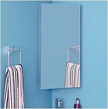 Houston Illuminated Bathroom Mirror Corner Cabinet