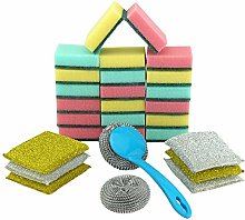 HOVUK® 28pcs Mega Pack Dish Washing Essential,