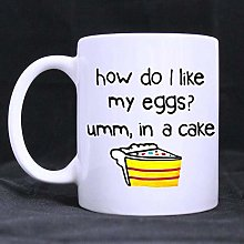 How Do I Like The Egg in The Cake Coffee Cup