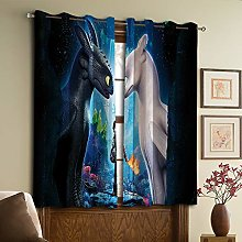 How to Train Your Dragon Living Room Curtains,for