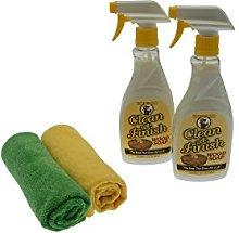 Howard Clean-A-Finish Wood Soap 2 x 473ml Spray