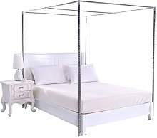HOXMOMA Mosquito Net Frame, Stainless Steel Bed