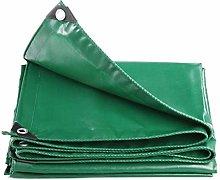 HQQ Waterproof Green Tarp - Heavy Duty PVC