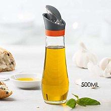 HQQSC Condiment bottles Automatic Flip Oil Jar Soy