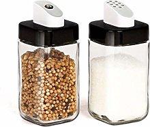 HQQSC Spice jar Spice jar glass cruet spice