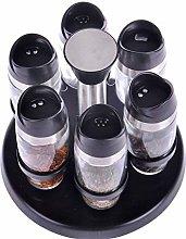 HQQSC Spice jar Spice jars, glass jars, flavoring