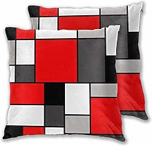 HQSL Cushion Covers Pack of 2 Cushion Covers Throw