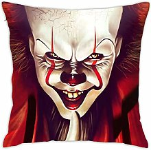 HQSL Red IT Pennywise Throw Pillow Covers