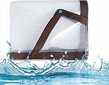 HRFHLHY Waterproof Transparent Tarpaulin