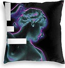 HRFKJYXG Grimes - Halfaxa Velvet Pillowcase Floor