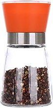 Hrph Salt Pepper Mill Grinder Glass Shaker Spice