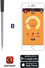HRRH Wireless Kitchen Meat Thermometer, Bluetooth