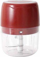 Hrsptudorc Electric Food Chopper, 400ML Portable