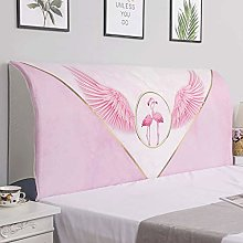 Hs&sure Bed Headboard Slipcover Bed Head Cover