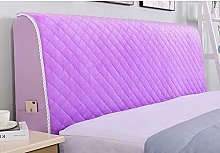 Hs&sure Headboard Cover With Side Pockets