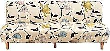Hs&sure Sofa Slipcover Sofa Bed Cover Armless Sofa
