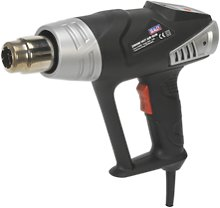 Hs104k Sealey Deluxe Hot Air Gun Kit With Led