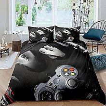 HSBZLH Baby Girl Bedding Sets 3Pcs Gamepad Gamer