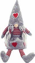 HshDUti Christmas Gnomes Plush Knitted Santa Doll,