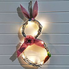 HshDUti Easter Decorations With Lights Decorating